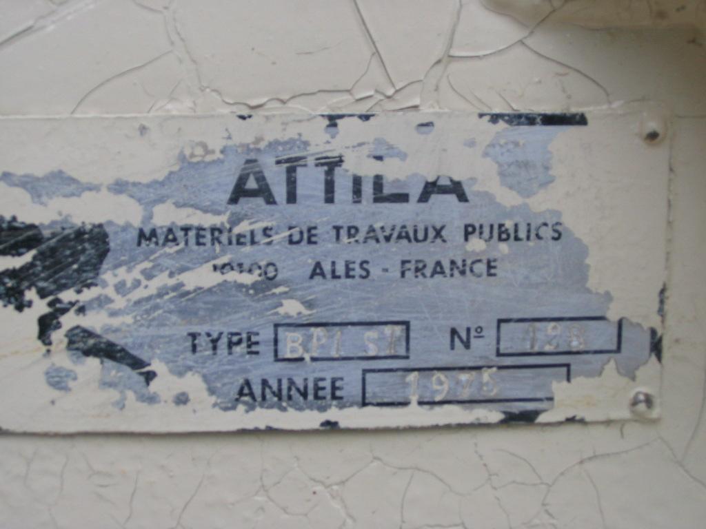 ATTILA BP1ST CM001