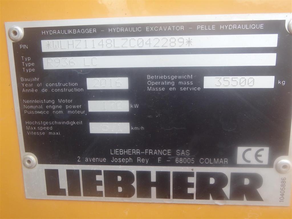 LIEBHERR R936 MULTI-USER PC018