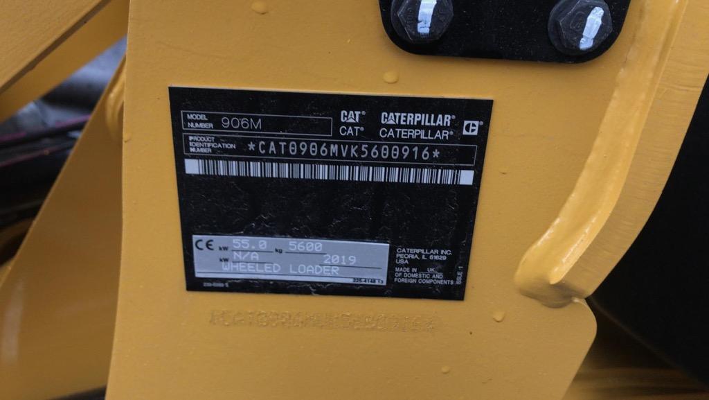 CATERPILLAR 906M CP028