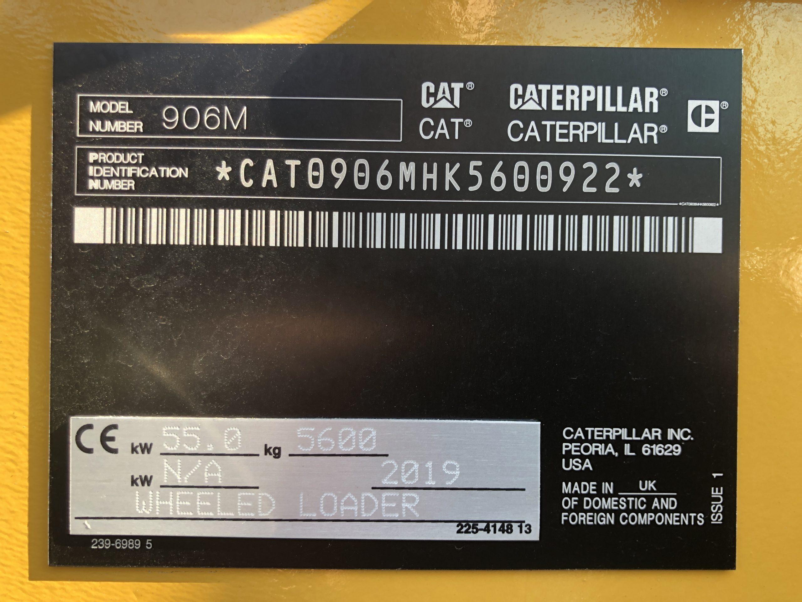 CATERPILLAR 906M CP032