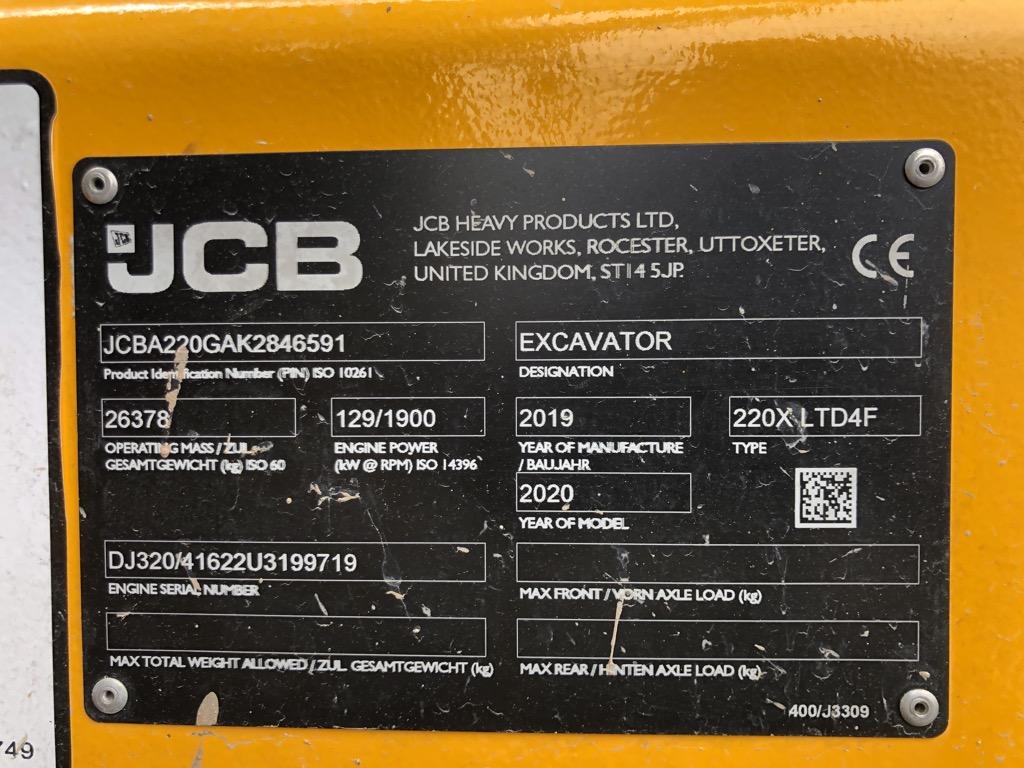 JCB 220X-LC   PC020