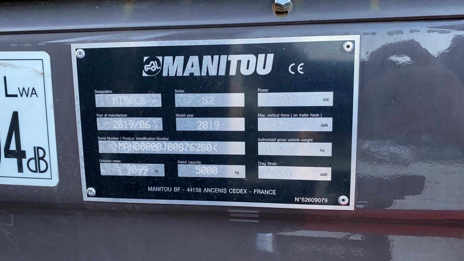 MANITOU MI50G   CE010